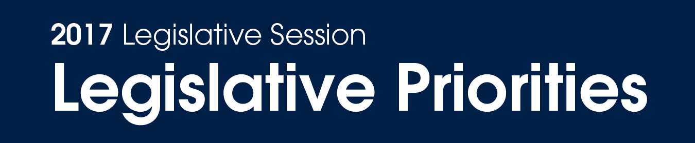 image for 2017 Legislative Session – Legislative Priorities