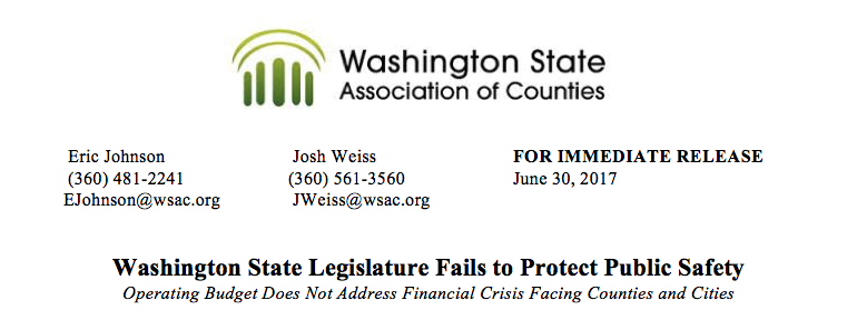 image for Legislature Fails to Protect Public Safety