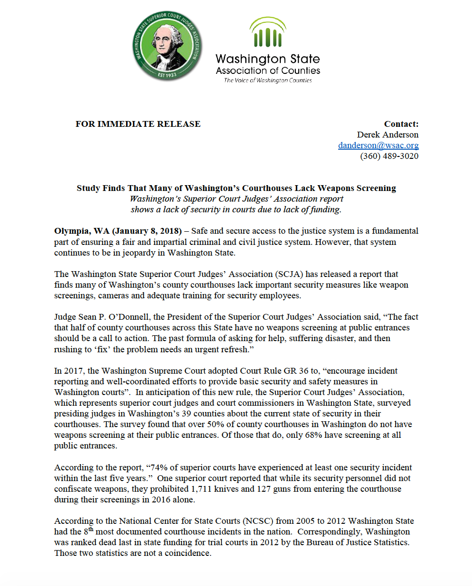 SCJA Press Release Header